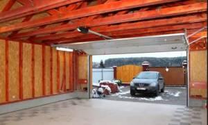 Из чего лучше строить гараж на даче