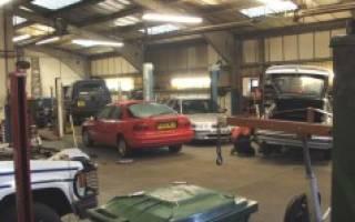 Автомастерская в гараже своими руками
