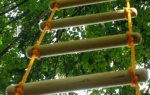 Веревочная лестница своими руками для колодца