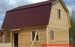 Теплый ли дом из бруса 150х150