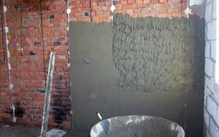 Зачем штукатурить бетонные стены