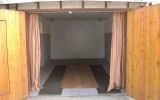 Комната отдыха в гараже своими руками