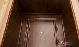Ремонт дверных откосов после установки железной двери