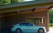Построить гараж на даче своими руками