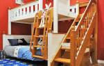 Лестница для двухъярусной кровати своими руками