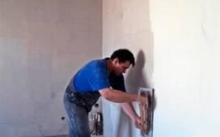 Зачем шпаклевать стены после штукатурки