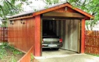Как раскрасить гараж на даче